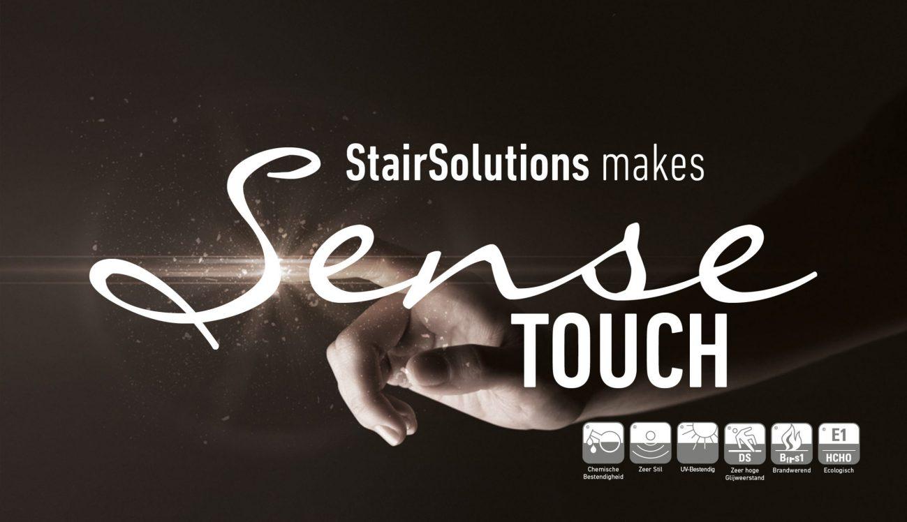 Sense touch display
